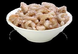 camarão médio