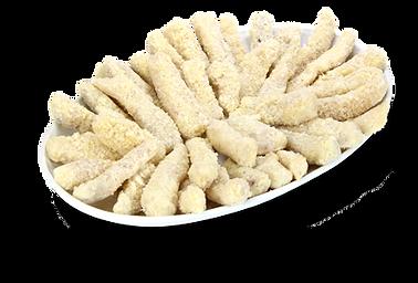 isca de peixe empanada