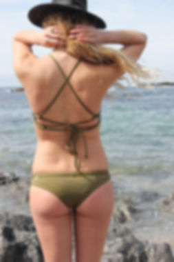Monaïa custom surf bikini / handmade in Canada for active women