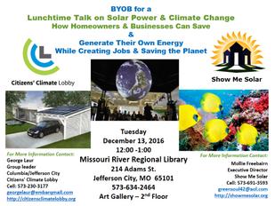 Public Presentation at MRRL Library in Jefferson City