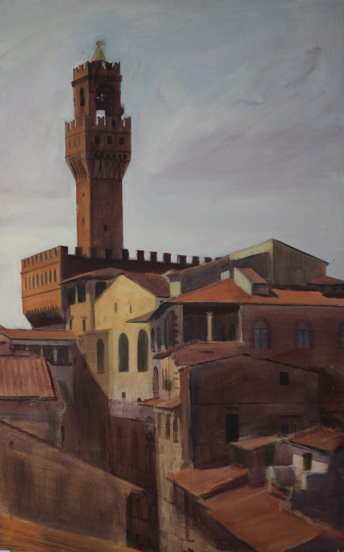 Light Study, Palazzo Vecchio 80x50.jp
