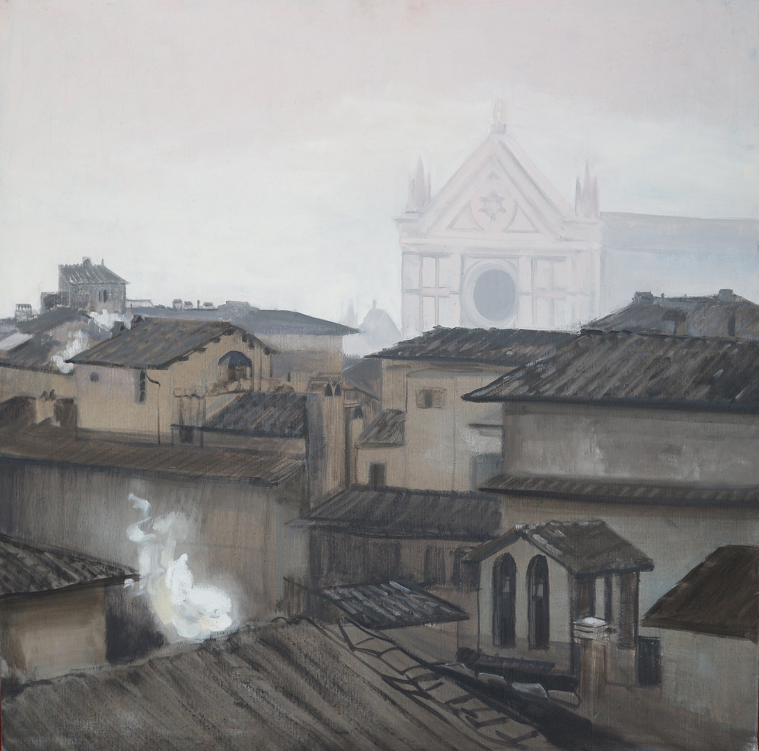 Winter Morning, Santa Croce 60x60.jpg