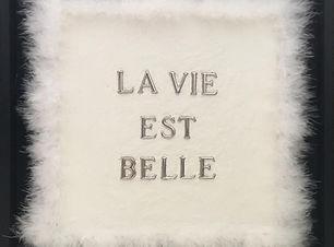 La vie est belle, opera di Paola Bollett