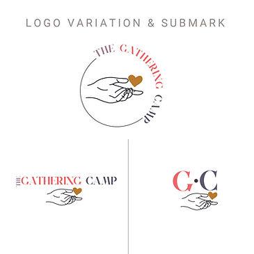 Custom logo Design; Feminine Logo Design