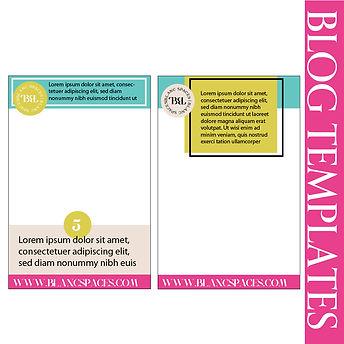 Custom Blog templates