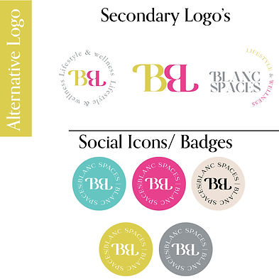 Custom Logo Design, Social Media Icons