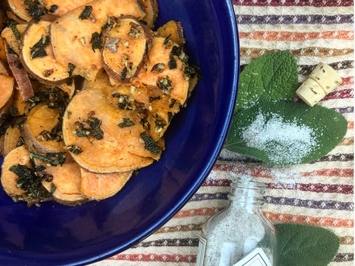 Recipes: Sweet Potatoes & Sage