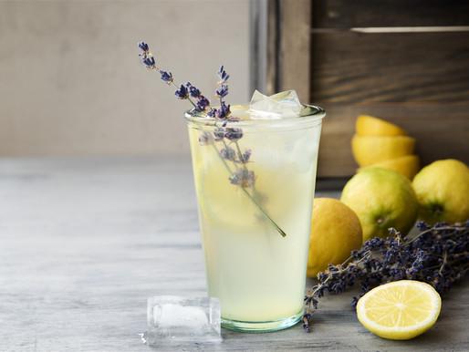 Iced Lavender Lemonade
