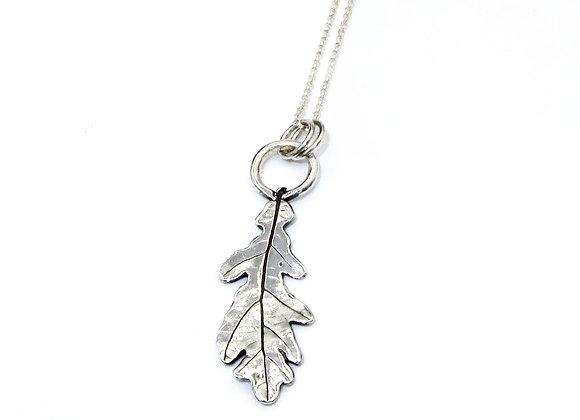 Oak Leaf Long Pendant