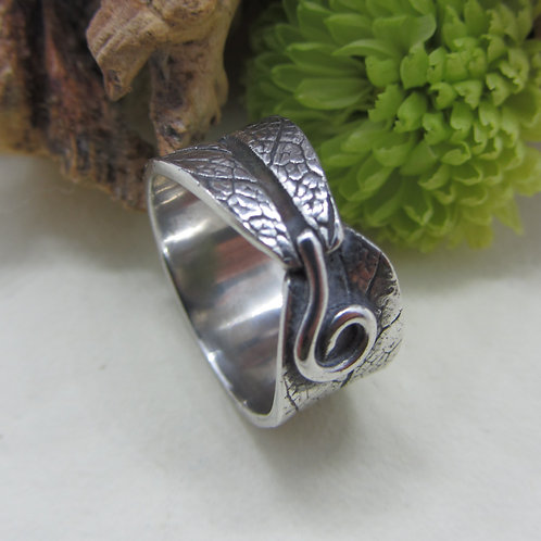 Sage Leaf Ring