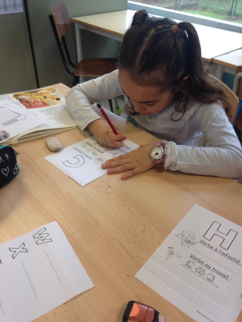 Ateliers autour du verbe en P2