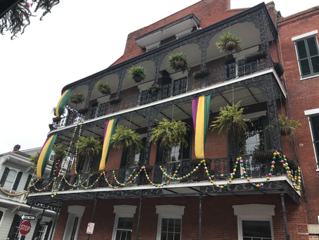 Cruising During Mardi Gras Out Of New Orleans