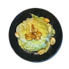 Garlic Fried cabbage