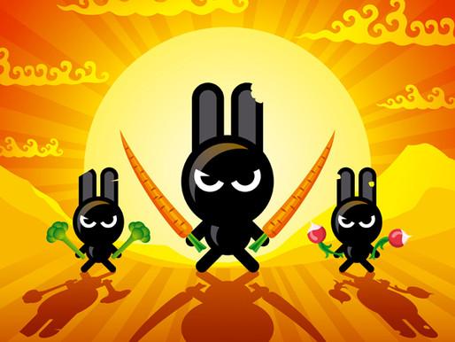Die Ninja-Kaninchen und was danach geschah!
