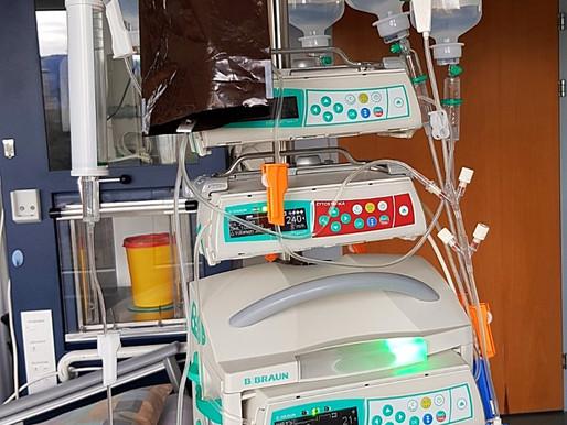 Hochdosis-Chemotherapie gestartet