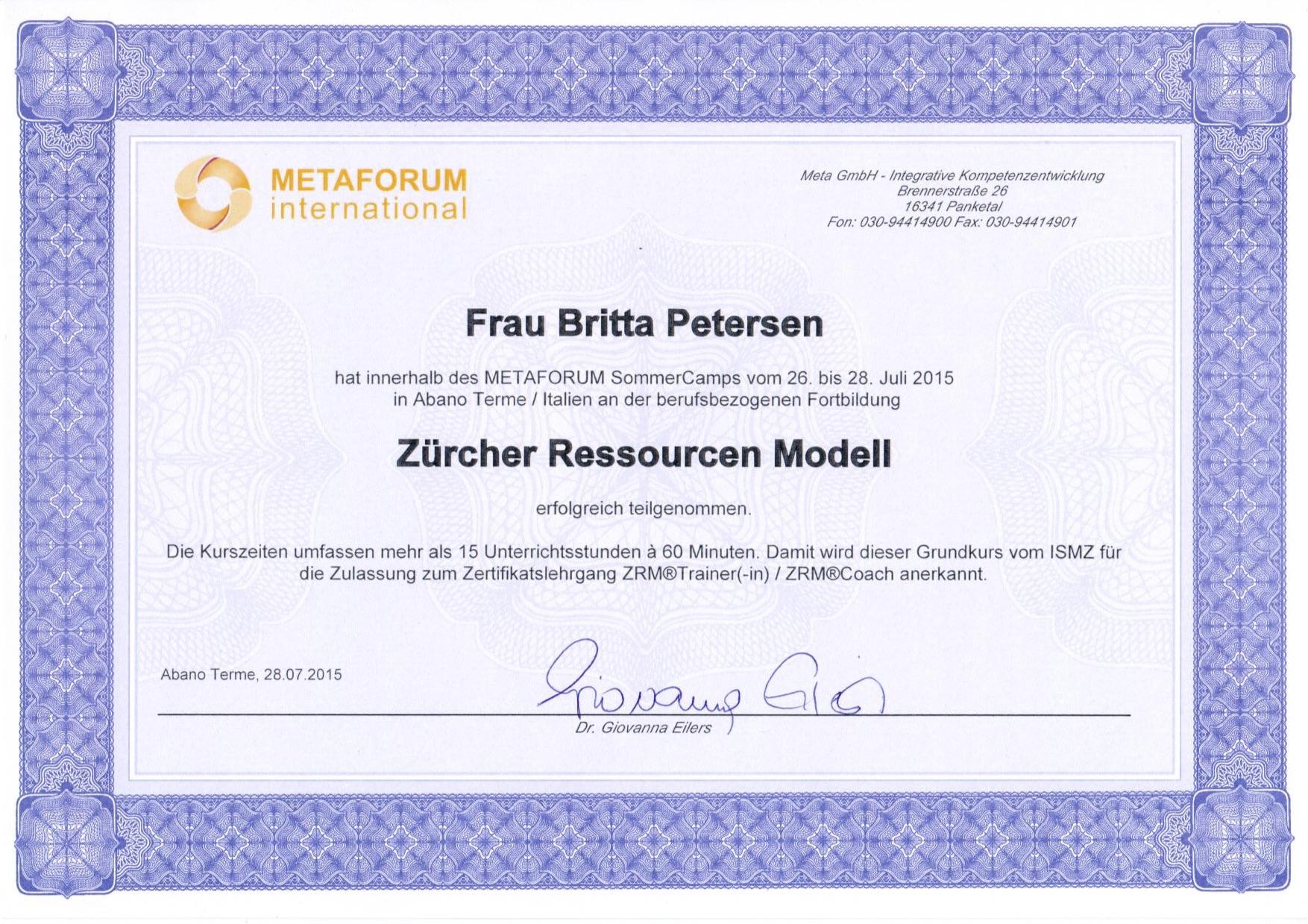 Zertifikat_Züricher_Ressourcenmodell