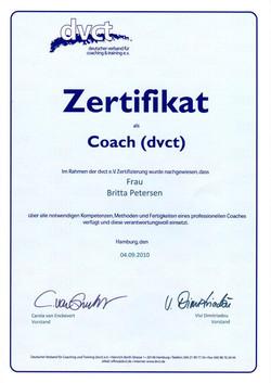 Zertifikat dvct Coach