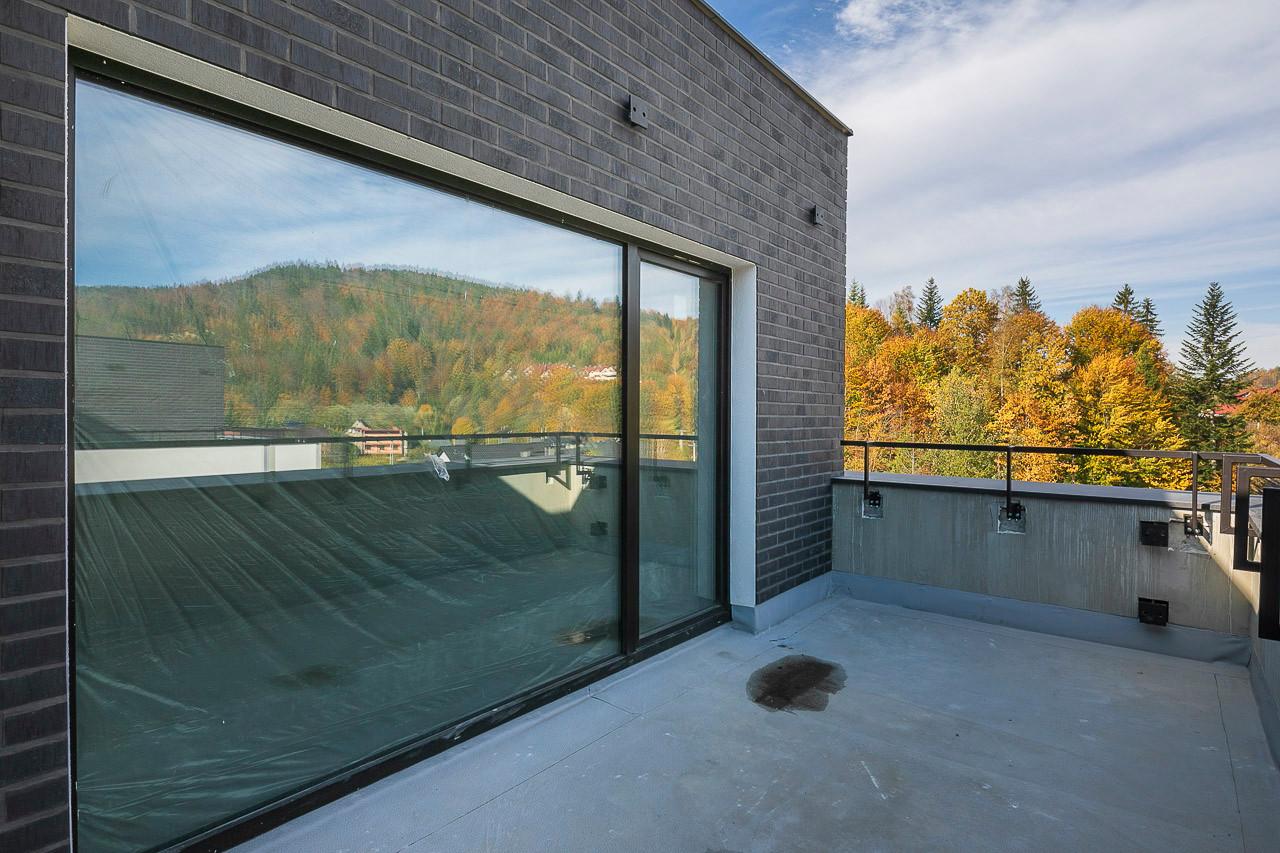 Zaawansowana budowa kompleksu wypoczynkowego Wisełka Apartamenty & Spa