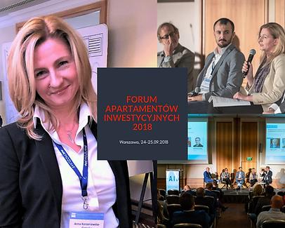 Posito na konferencji FAIN 2018 o polskim rynku condo nieruchomości