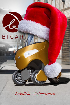 Das BICAR Team wünscht fröhliche Weihnachten