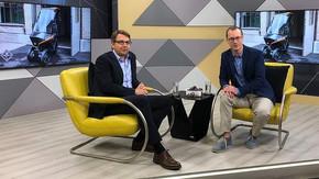 Adrian Burri spricht über BICAR im Fernsehen bei TELE TOP