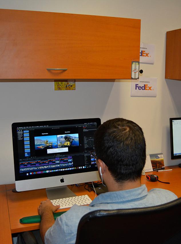 Video profesional de avance de obra