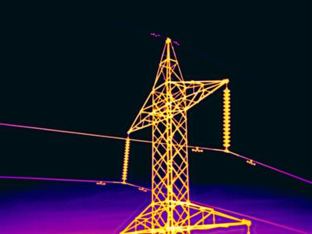 Termografía: tecnología para inspeccionar líneas eléctricas