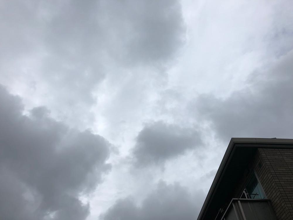 台風が・・