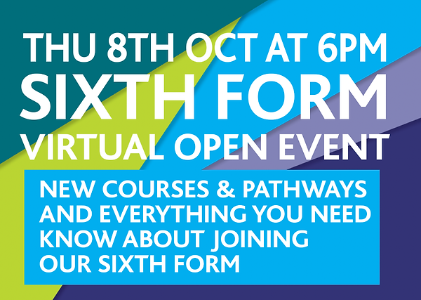 Sixth form open evening.PNG