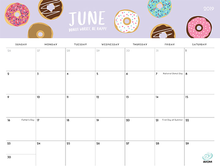 June-2019-Printable-Calendar-with-Holida