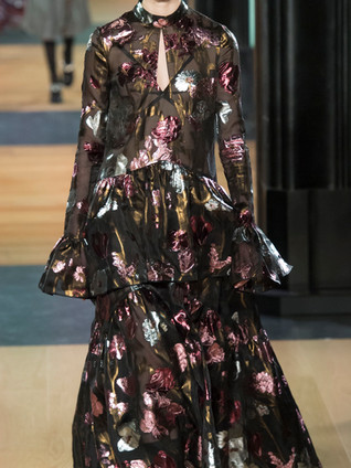 Анализ показа Erdem Fall Winter 2018/19