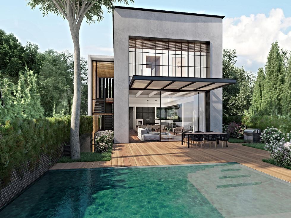 Architectural Visualization:Studio 84