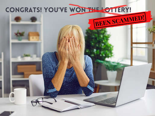 Congrats! You've Been Scammed!