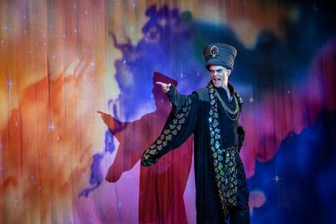 As Abanazer in Aladdin (2019)