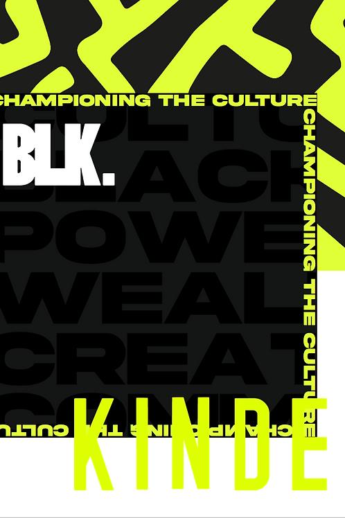 BLK. By KINDE