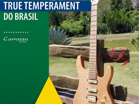 """Primeira empresa Brasileira a trazer o modelo de guitarra """"True Temperament"""""""