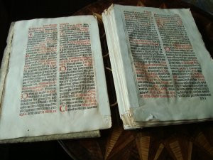 Messbuch von 1516 übergeben