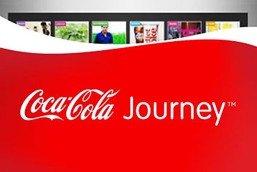Coca-Colas banner for the digital campaign
