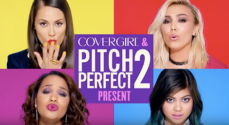 Dewey nicks presents covergirl abd pitch perfect 2 collaboration