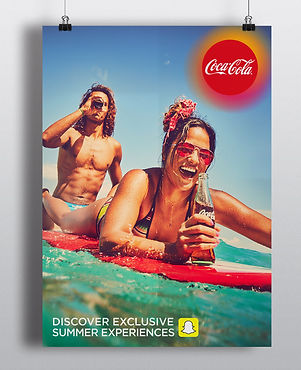 Coca-cola and Snapchats summer campaign