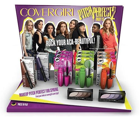 Covergirl and Pitch Perfect 2 Official Make up line