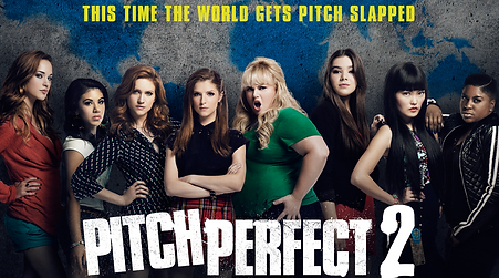The star-studded cast of Pitch Perfect 2
