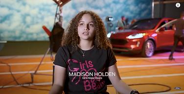 Madison Holden for girl makes beats
