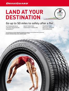 Bridgestone driveguard tire product for long lasting ride