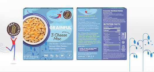 Grainful Mac and Cheese packaging