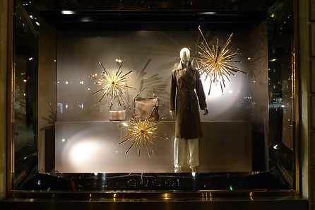 Gucci Christmas collection at paris france