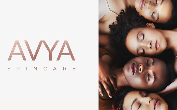 Girls laying side by side for AVYA promotion