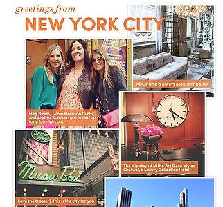 Starwood Hotel New york City greeting card