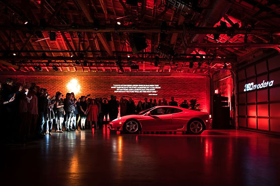 Celebrities at the launch party of Ferrari F8 Tributo