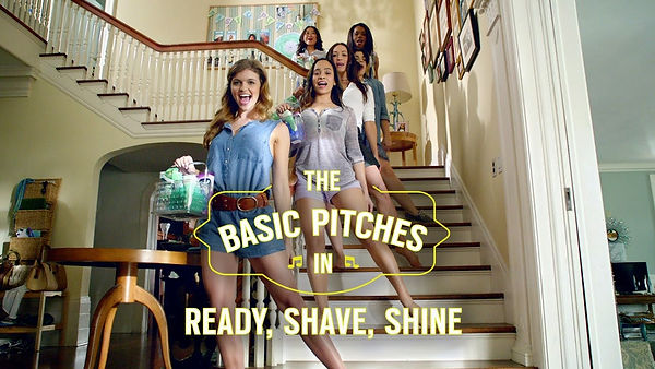 Basic pitches for schick and skintimate
